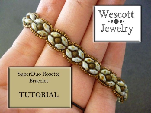 SuperDuo Rosette Bracelet