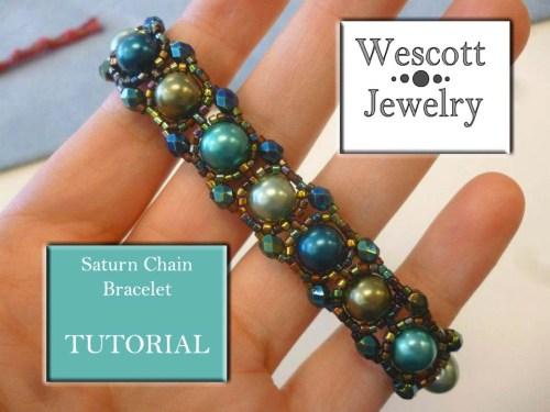 Saturn Chain Bracelet
