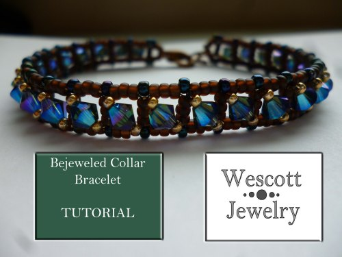 Bejeweled Collar Bracelet